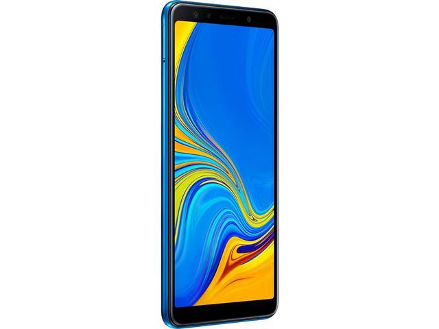 "Smartphone Samsung Galaxy A7 2018 128GB Duos 4G Tela 6"" Câm. 24MP Azul - 2"