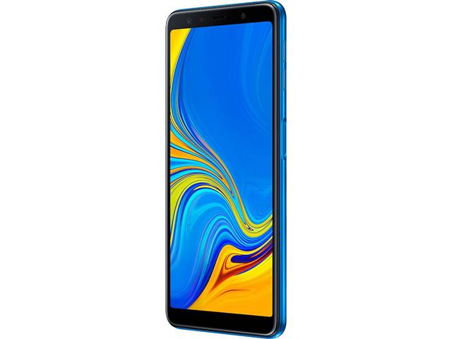 "Smartphone Samsung Galaxy A7 2018 128GB Duos 4G Tela 6"" Câm. 24MP Azul - 3"