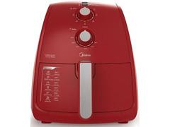 Fritadeira Elétrica  Midea sem Óleo Vermelha 4L