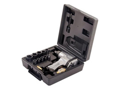 Chave impacto pneumática Kajima maleta plástica 17 peças