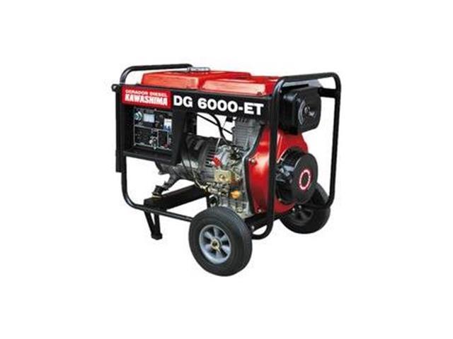 Gerador DG-6000ET Trif 380V diesel 5,0kw  motor 406cc