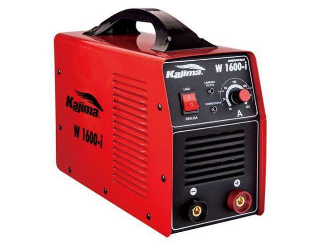 Inversor de Solda Kajima W-1600-I Potência 455A 110V  27A 220V