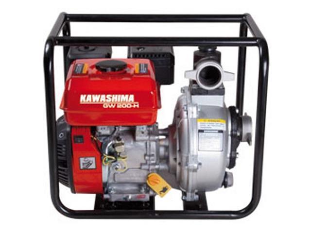 Motobomba Kawashima GW200-H 2 gasolina 212cc alta pressão