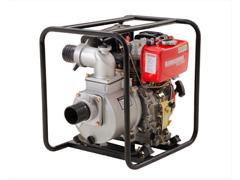 Motobomba Kawashima DW-350 3 motor diesel 6hp 296cc - 0