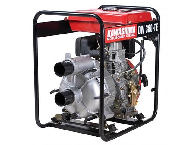 Motobomba Kawashima DW380TE Trash 3 6hp Para Água Suja