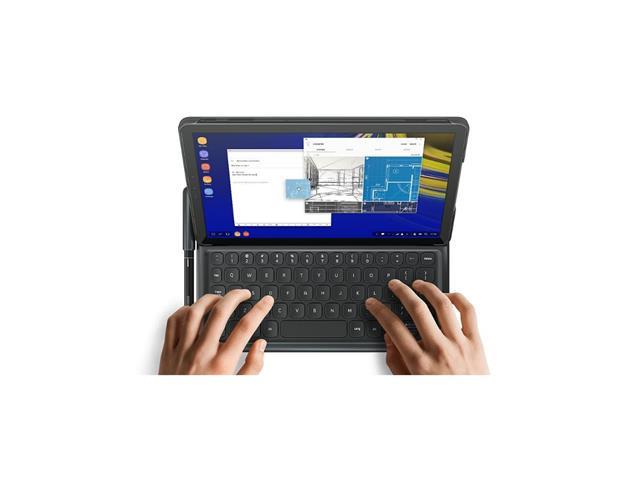 "Tablet Samsung Galaxy Tab S4 10.5""4G 64GB Preto + Capa Teclado Samsung - 2"