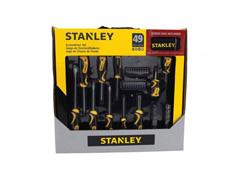 Jogo de Ferramentas Stanley 49 Peças com Bolsa de Nylon - 0