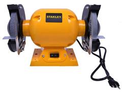 "Moto Esmeril de Bancada Stanley 1/2 HP 373W 6"" Bivolt - 0"