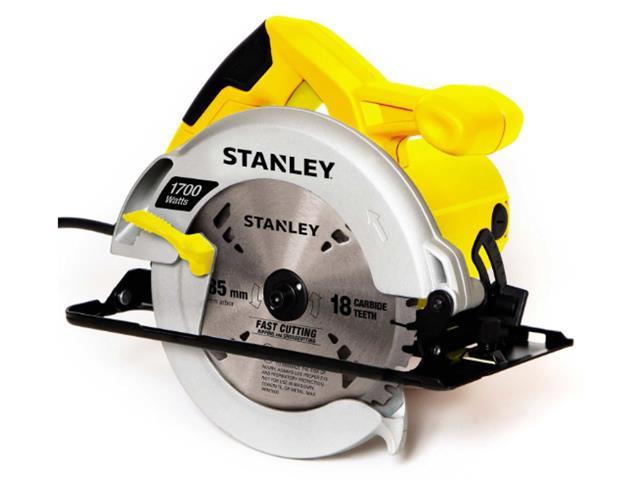 """Serra Circular de 7-1/4"""" Stanley 1700W com Bolsa de Nylon 220V"""