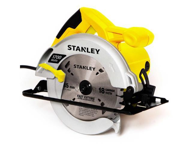 "Serra Circular de 7-1/4"" Stanley 1700W com Bolsa de Nylon"