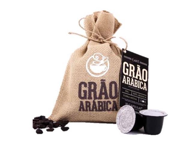 Café Grão Árabica Cápsulas c/ 10