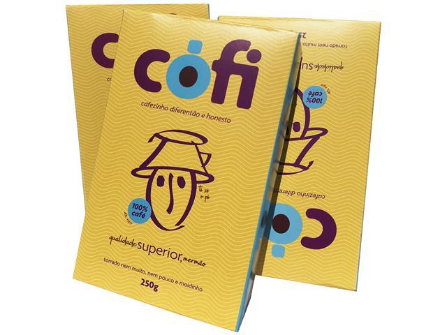 Café Cófi Torrado e Moído 250g - 1
