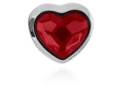 Becharmed Coração Decorado com Cristais da Swarovski® Vermelho
