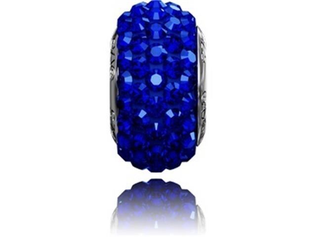 Becharmed Dse Decorado com Cristais da Swarovski® Blue 13,5 Mm