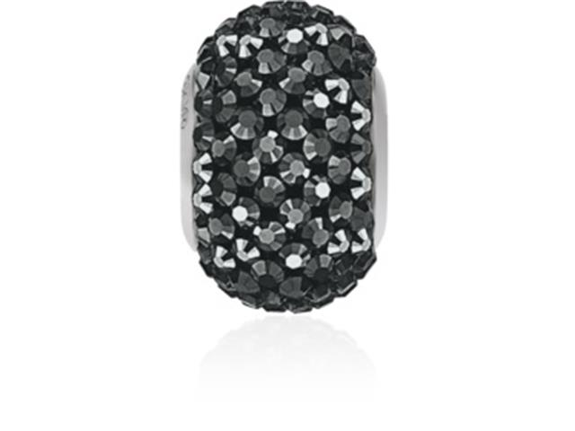 Becharmed Dse Decorado com Cristais da Swarovski® Preto 14 Mm