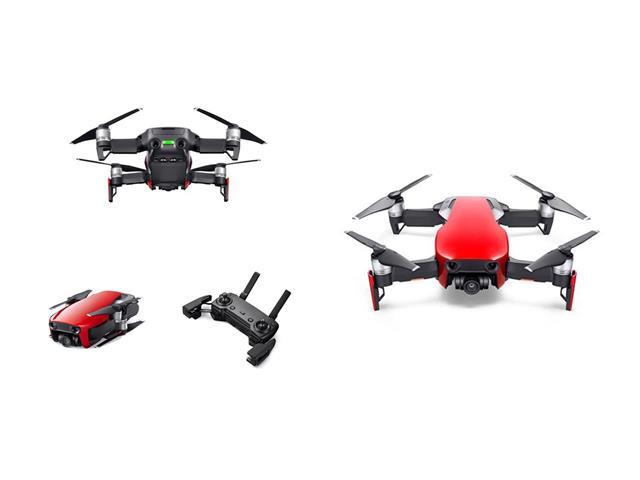Drone DJI Mavic Air Fly More Combo Vermelho - 1