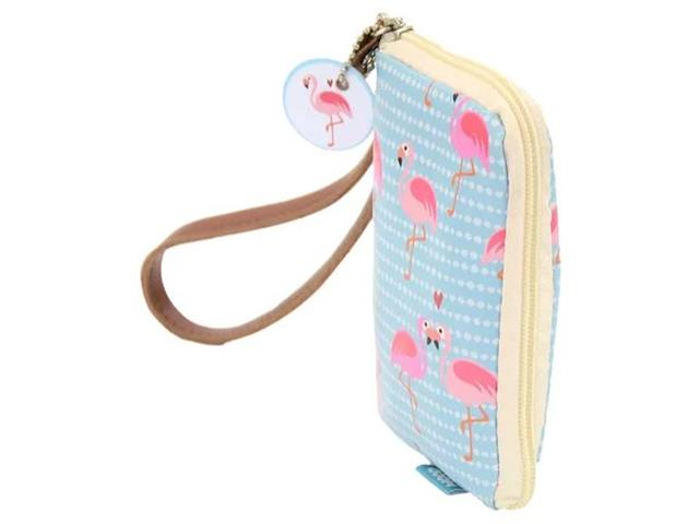 Carteira para Celular Mood Flamingo - 1