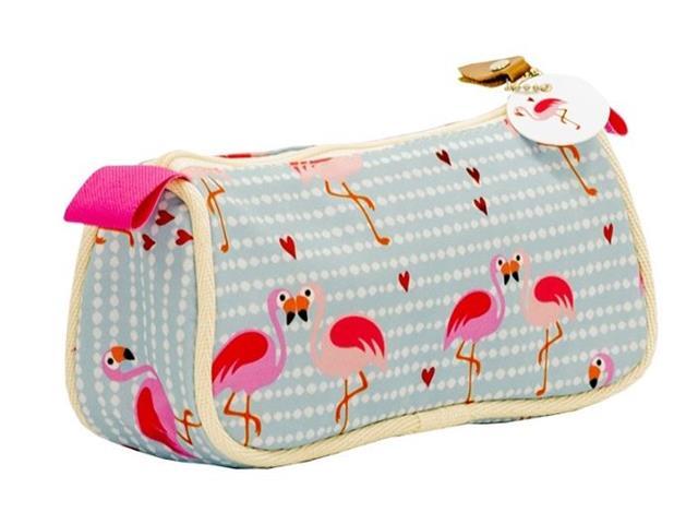 Necessaire Bolsa Mood Flamingo