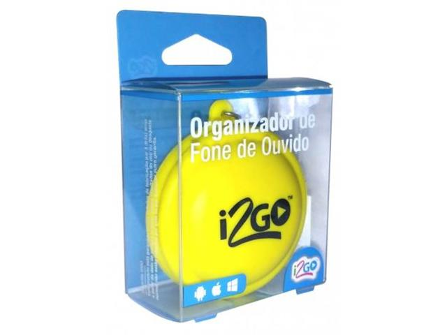 Organizador de Fone de Ouvido Emoji i2GO Portátil Chaveiro Sortido - 7