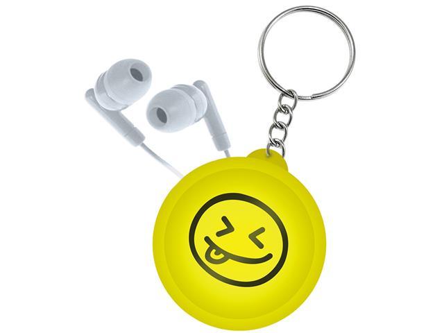 Organizador de Fone de Ouvido Emoji i2GO Portátil Chaveiro Sortido - 1