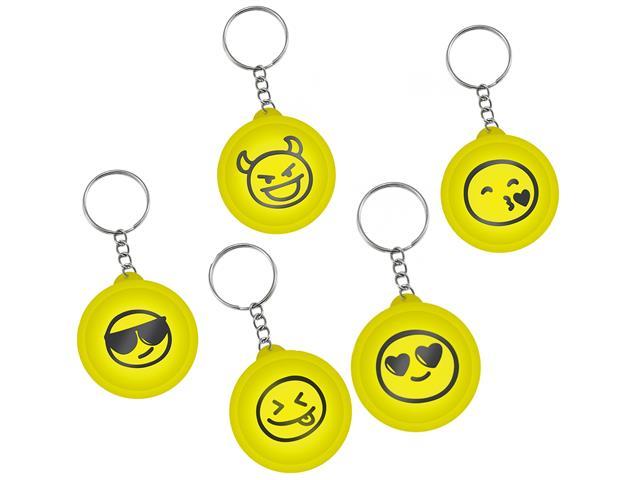 Organizador de Fone de Ouvido Emoji i2GO Portátil Chaveiro Sortido