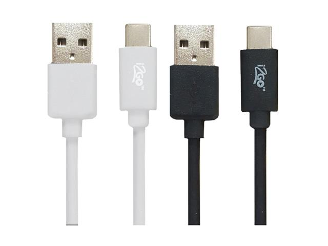 Cabo USB-C para USB-A i2GO PRO 1,2 Metros Sortido