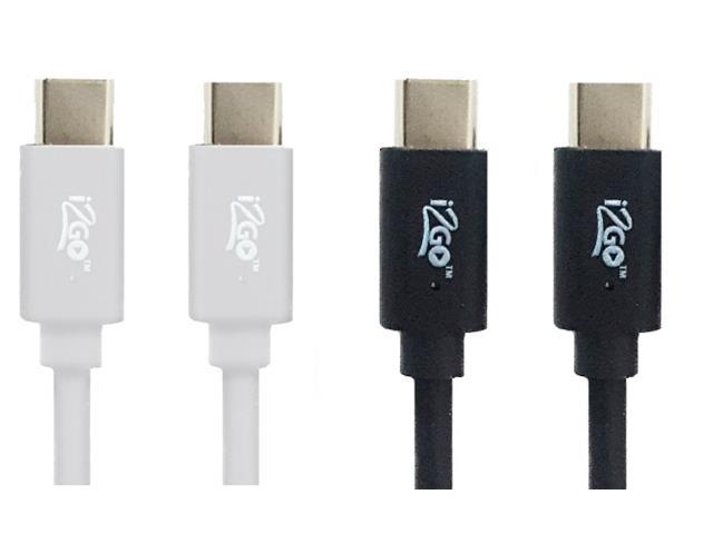 Cabo USB-C para USB-C i2GO PRO 1,2 Metros Sortido
