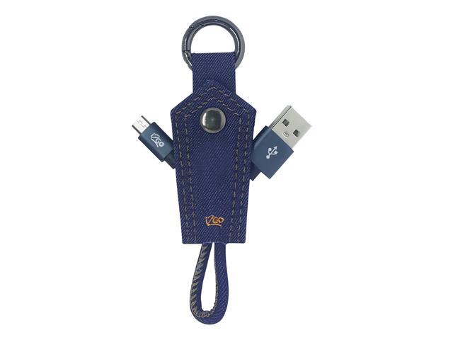 Chaveiro com Cabo Micro-USB i2GO Jeans