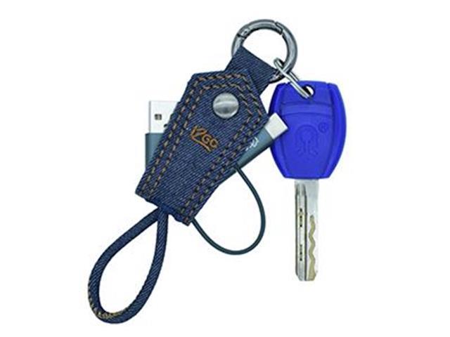 Cabo 2 em 1 i2GO Jeans Micro USB e USB-C - 3