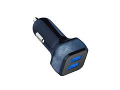 Carregador Veicular i2GO Jeans 2 Saídas USB