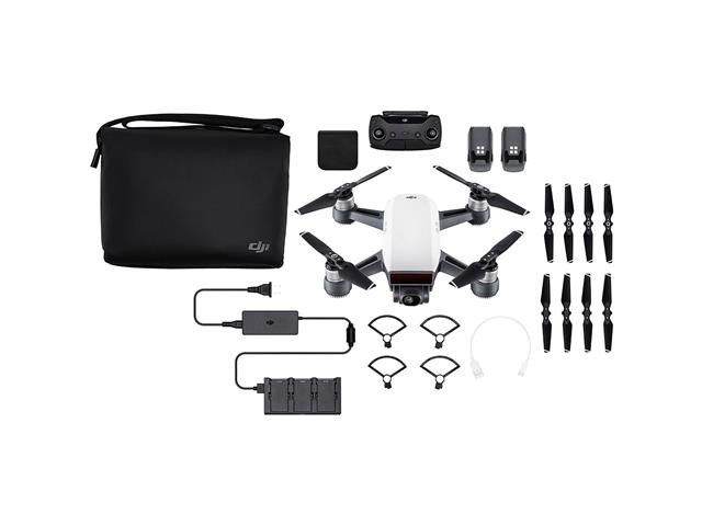 Drone DJI Spark Combo Fly More Alpine White - 5