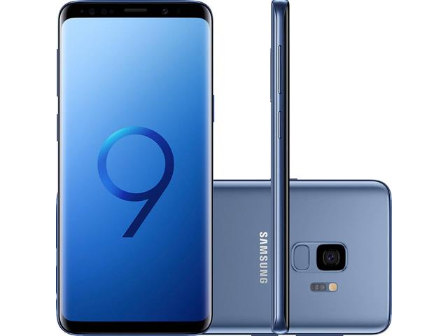 "Smartphone Samsung Galaxy S9 4G Dual Chip Tela 5.8"" 128GB 12MP Azul"