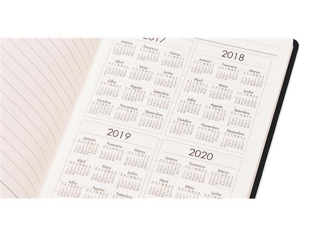 Caderneta de Anotações com Pen Drive 4gb 21x14cm Preto 80 Fls - 3
