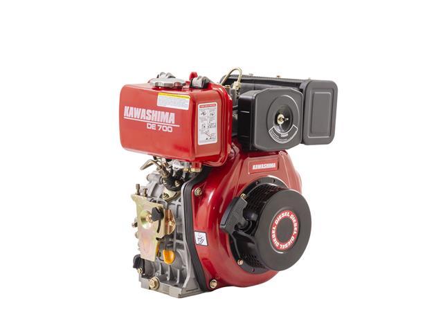 Motor Estac. Kawashima DE-700 Diesel, 296CC 7HP