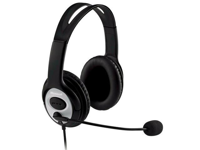 Headset Microsoft Lifechat com Microfone