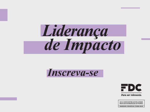 Liderança de Impacto: Conexão e Ação para Resultados - FCD