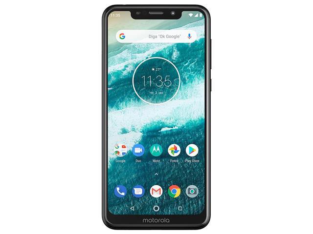 "Smartphone Motorola One 64GB Dual Tela 5.9"" 4G Câmera 13 + 5MP Preto - 2"