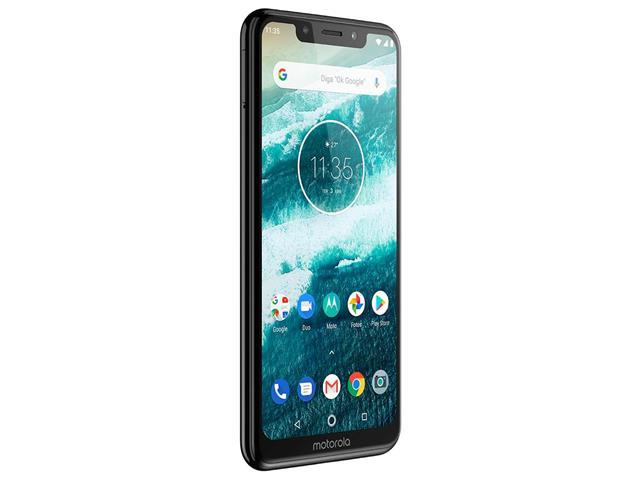 "Smartphone Motorola One 64GB Dual Tela 5.9"" 4G Câmera 13 + 5MP Preto - 3"