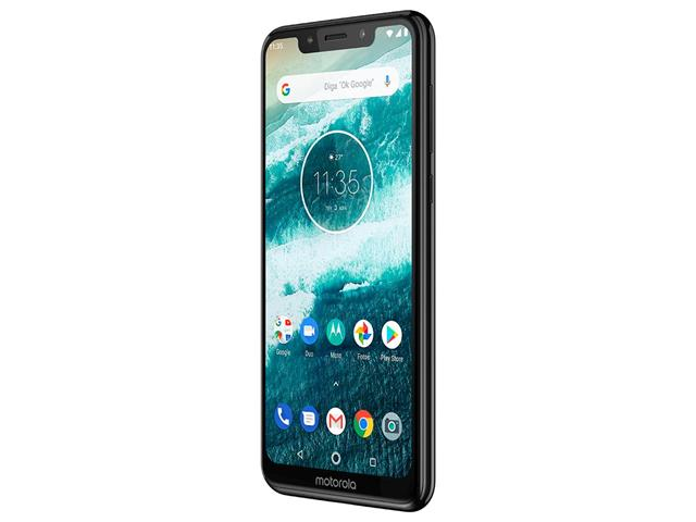 "Smartphone Motorola One 64GB Dual Tela 5.9"" 4G Câmera 13 + 5MP Preto - 4"
