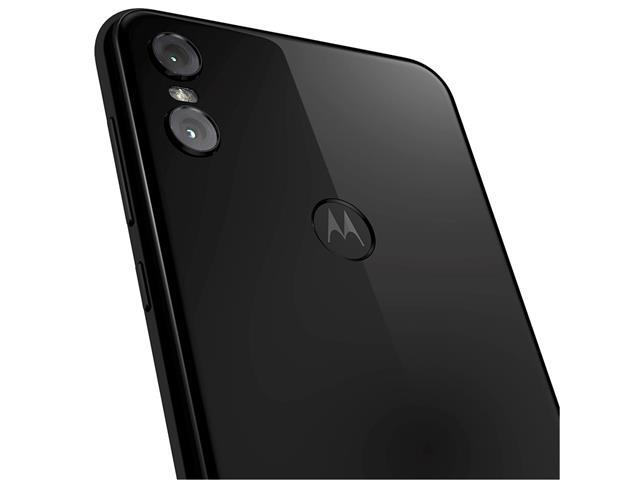 "Smartphone Motorola One 64GB Dual Tela 5.9"" 4G Câmera 13 + 5MP Preto - 8"