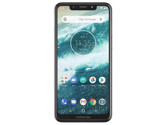 "Smartphone Motorola One 64GB Dual Tela 5.9"" 4G Câmera 13 + 5MP Branco - 2"