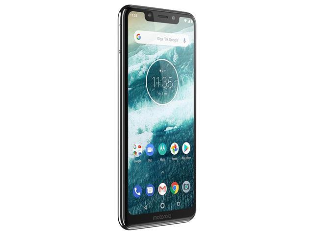 "Smartphone Motorola One 64GB Dual Tela 5.9"" 4G Câmera 13 + 5MP Branco - 3"