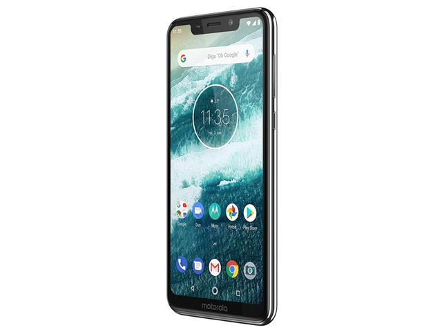 "Smartphone Motorola One 64GB Dual Tela 5.9"" 4G Câmera 13 + 5MP Branco - 4"