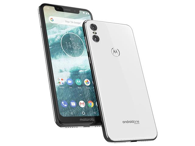 "Smartphone Motorola One 64GB Dual Tela 5.9"" 4G Câmera 13 + 5MP Branco - 5"