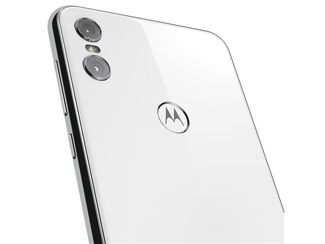 "Smartphone Motorola One 64GB Dual Tela 5.9"" 4G Câmera 13 + 5MP Branco - 8"