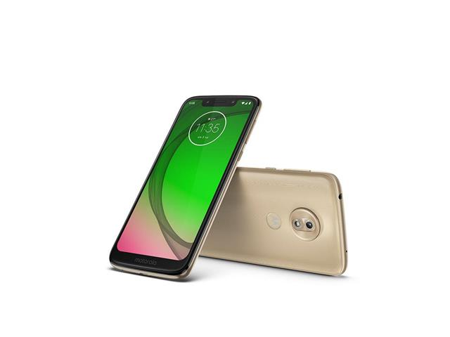 "Smartphone Motorola Moto G7 Play 32GB Dual Tela 5.7""Câm 13MP 4G Ouro - 1"
