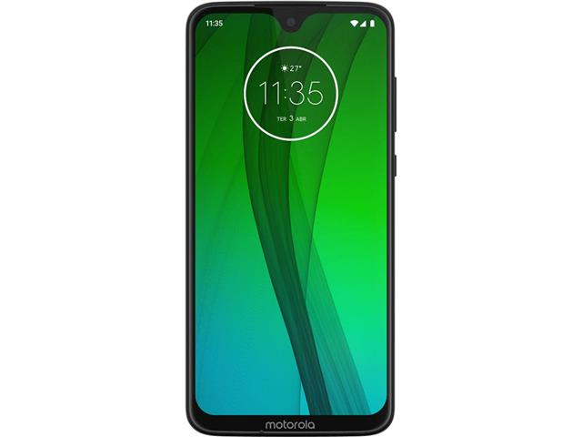 "Smartphone Motorola Moto G7 64GB 4GB Tela 6.2'"" Dual Câm 12 + 5MP Ônix - 1"