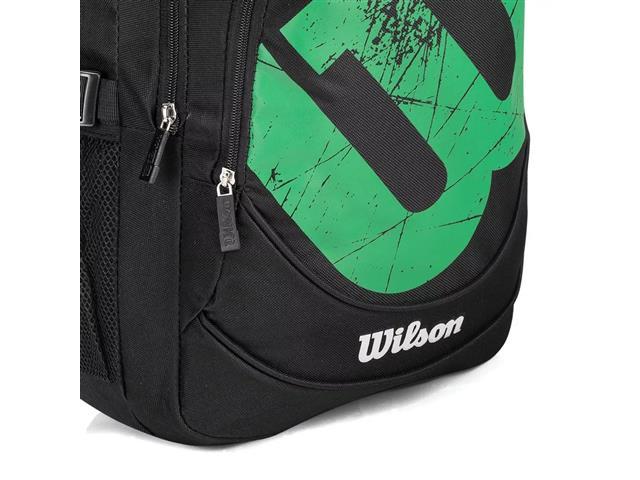 Mochila Esportiva Wilson Wilson MC20007 Preto e Verde - 2