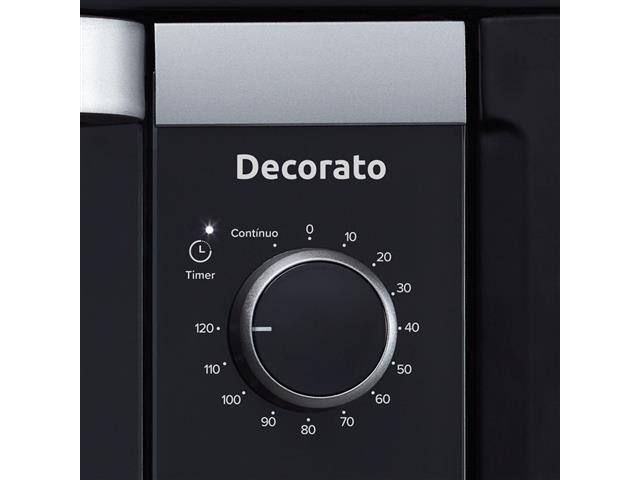 Forno Elétrico de Embutir Decorato 44 Litros Preto - 2
