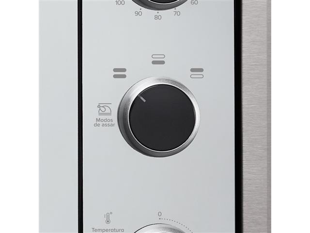 Forno Elétrico de Embutir Decorato 44 Litros Inox  - 4
